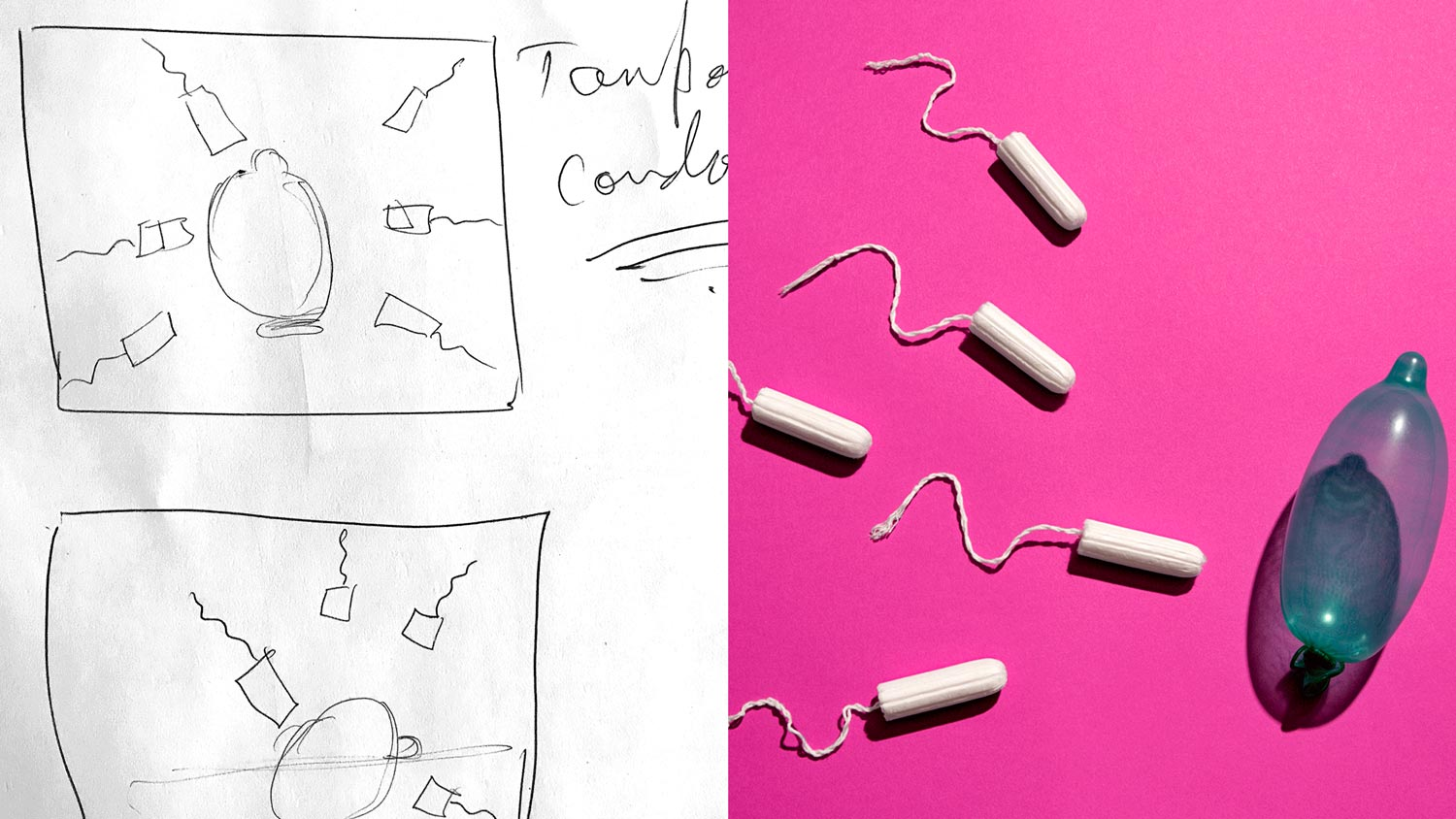 Condoms-Tampons-Sketch